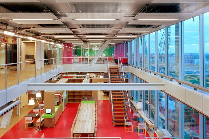 De brug de kade jhk architecten for Archi interieur rotterdam